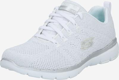 SKECHERS Zapatillas deportivas bajas en plata / offwhite, Vista del producto