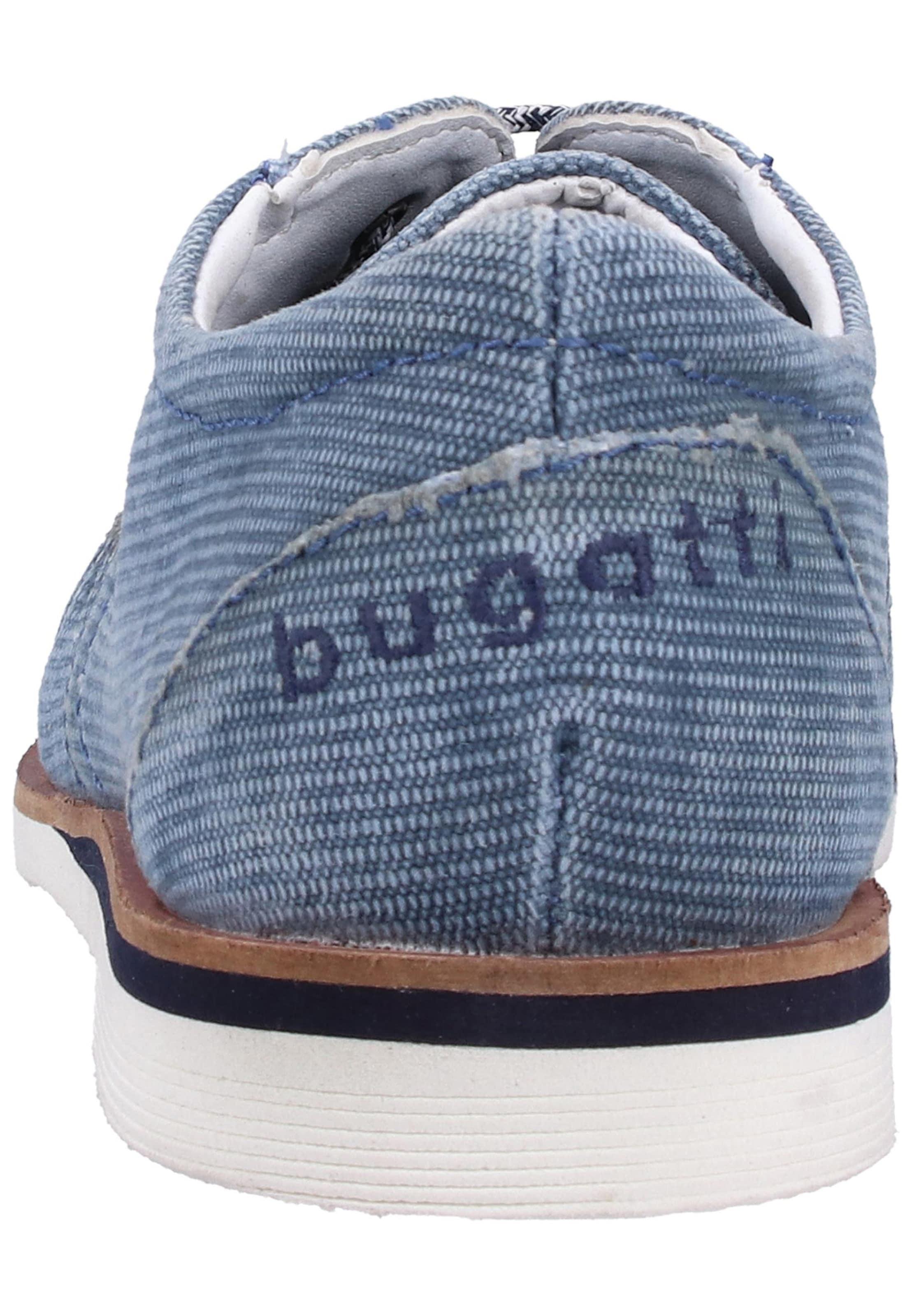 Chaussure Bugatti Bleu Clair Lacets En À hCxtsrdQ