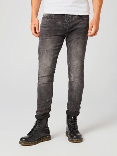 tigha Jeans 'Morty 5125' in black denim, Modelansicht