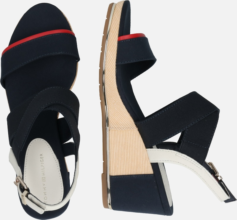 TOMMY HILFIGER Sandale in beige | ABOUT YOU