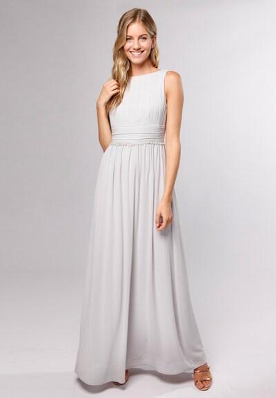 Young Couture by BARBARA SCHWARZER Kleid in silber, Modelansicht