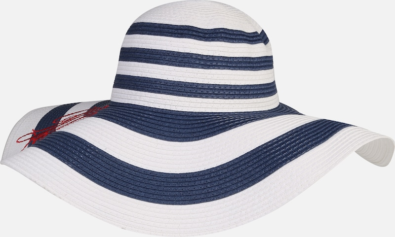 Sunhat Packable In Lauren Ralph Hoed Striped BeigeNavy oxBeQrCWEd