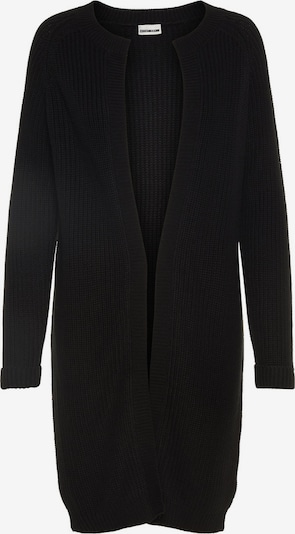 Noisy may Langer Strick-Cardigan in schwarz, Produktansicht