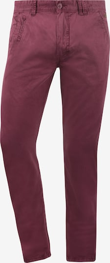 BLEND Chinohose 'Tromp' in lila / rot, Produktansicht