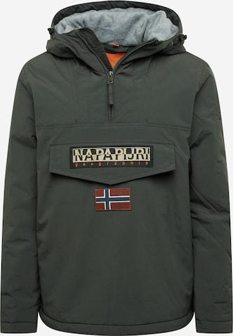 NAPAPIJRI Between-Season Jacket 'RAINFOREST' in Grey