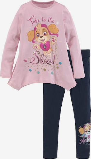 PAW Patrol PAW PATROL Shirt & Leggings »TAKE TO THE SKIES!« (Set) in rosa / schwarz, Produktansicht