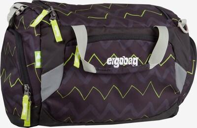 ergobag Sporttasche in grau / neongrün, Produktansicht