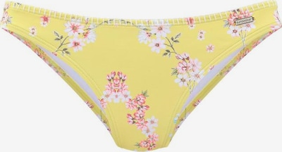 SUNSEEKER Bikinitrusse 'Ditsy' i gul / blandingsfarvet, Produktvisning