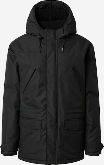 Ilga žieminė striukė 'Festland Parka MONO' iš Derbe , spalva - juoda, Prekių apžvalga