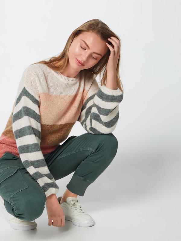 Jeans 'erica' over En Pepe Couleurs Pull Mélange De QrCWdBoexE