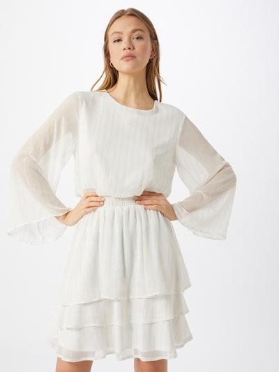 SISTERS POINT Kleid 'NICOLINE' in creme / gold, Modelansicht