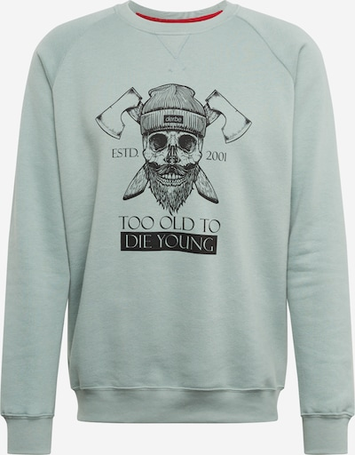 Derbe Sweatshirt  'TOTDY Sweat' in mint, Produktansicht