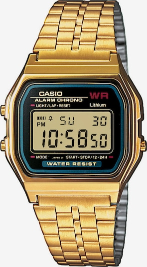 CASIO Armbanduhr 'Collection' in blau / gold / schwarz: Frontalansicht
