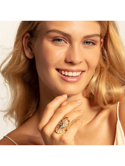 Thomas Sabo Ring in gold: Frontalansicht