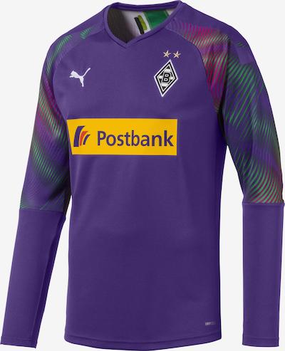 PUMA Torwarttrikot 'Borussia Mönchengladbach' in gelb / grün / lila / weiß, Produktansicht
