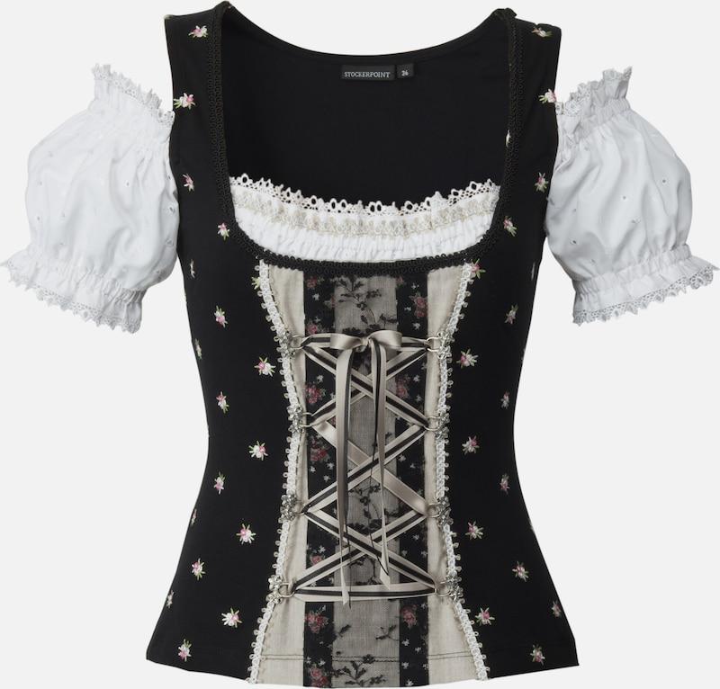STOCKERPOINT Shirt 'Siena' in schwarz   naturweiß  Mode neue Kleidung