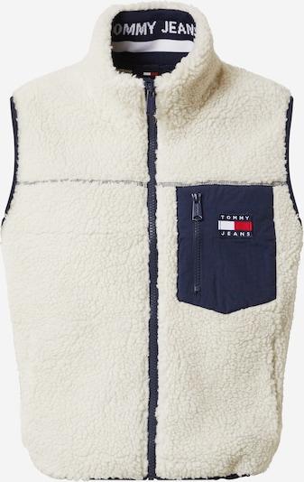 Tommy Jeans Kamizelka 'SHERPA' w kolorze kremowy / atramentowym, Podgląd produktu