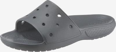 Crocs Pantolette in anthrazit, Produktansicht