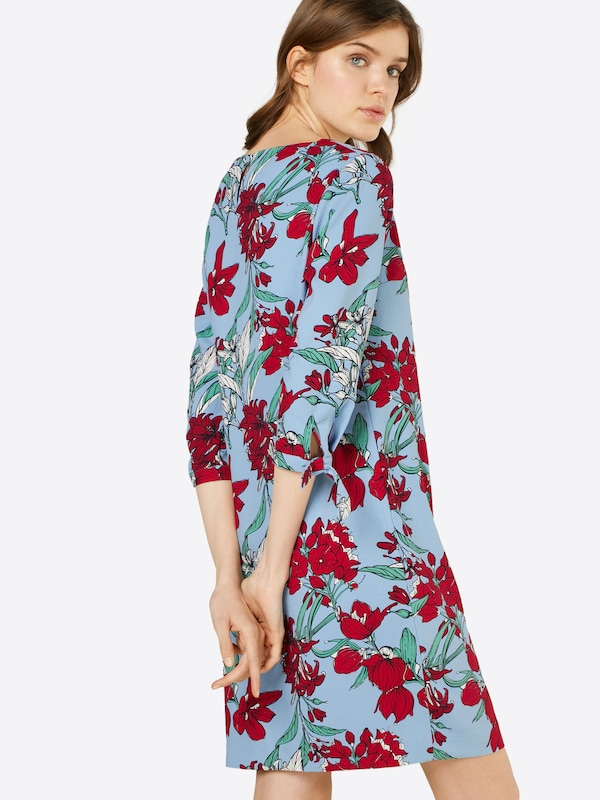 S.oliver Red Label Dress With Floral Pattern