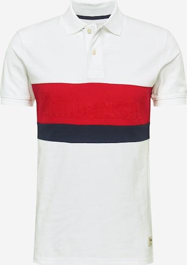 TIMBERLAND T-Shirt en rouge / noir / blanc, Vue avec produit