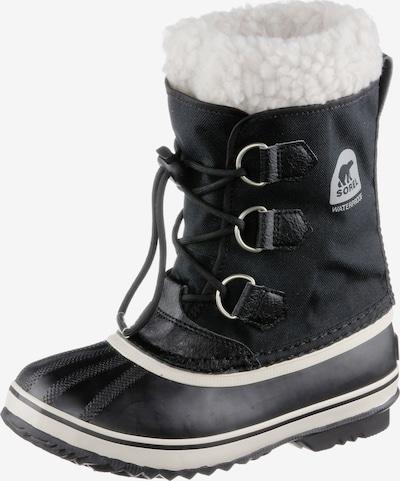 SOREL Winterstiefel 'Yoot Pac' in schwarz / weiß, Produktansicht