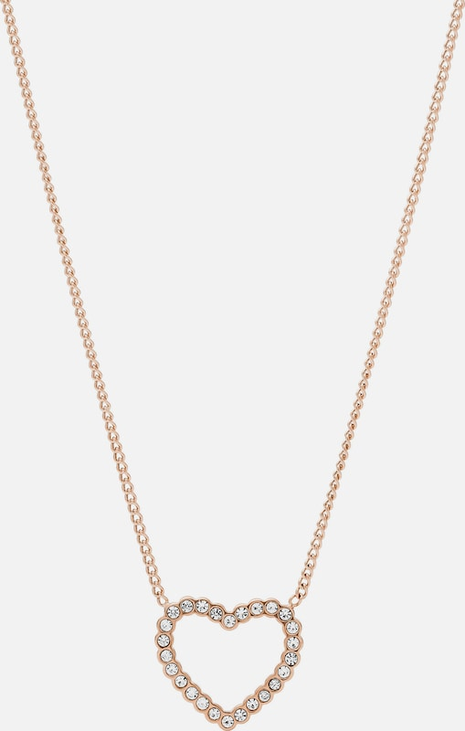 FOSSIL Kette 'JF03086791' in rosegold: Frontalansicht