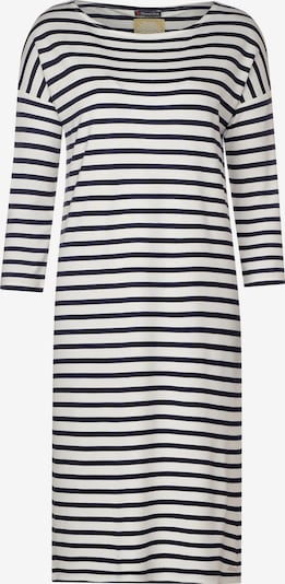 STREET ONE Jersey-Kleid mit Streifen in schwarz / weiß, Produktansicht