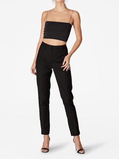 LeGer by Lena Gercke Pantalon 'Josie' in de kleur Zwart, Modelweergave