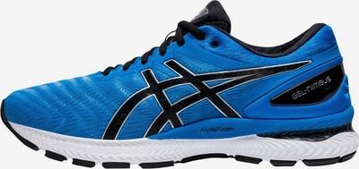 ASICS Laufschuh 'Nimbus 22' in blau / schwarz / weiß, Produktansicht