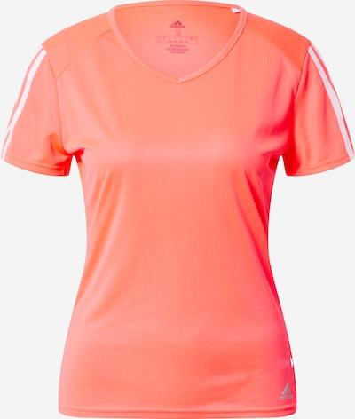 Sportiniai marškinėliai iš ADIDAS PERFORMANCE , spalva - koralų splava, Prekių apžvalga
