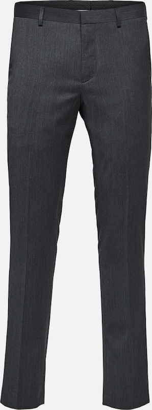 SELECTED HOMME Anzughose in grau  Großer Rabatt