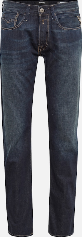 'newbill' Jean Denim Replay En Bleu CedxrBo