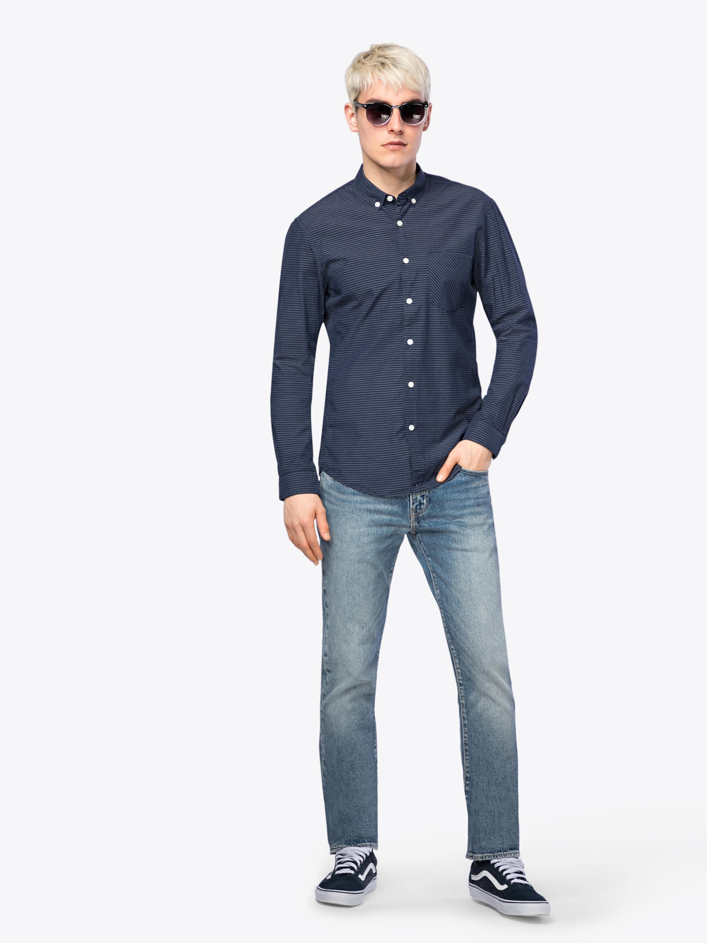 Bester Speicher Billig Online Zu Bekommen TOM TAILOR DENIM Freizeithemd 'It´s All About Stripe Shirt' Billig Erstaunlicher Preis ElHx5EKP