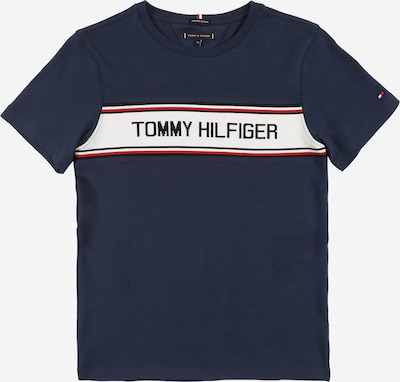 TOMMY HILFIGER Shirt 'TH INTARSIA' in navy, Produktansicht