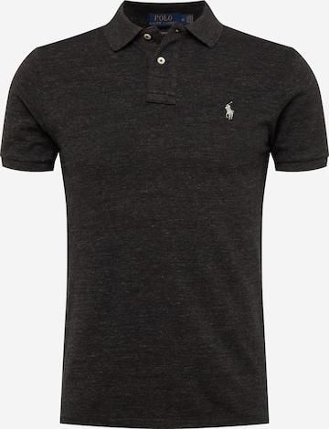 Maglietta 'SSKCSLM1-SHORT SLEEVE-KNIT' di Polo Ralph Lauren in nero