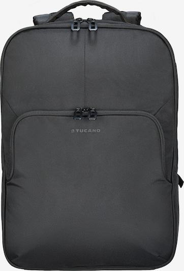 TUCANO Daypack Laptop Backpack in dunkelgrau / schwarz, Produktansicht
