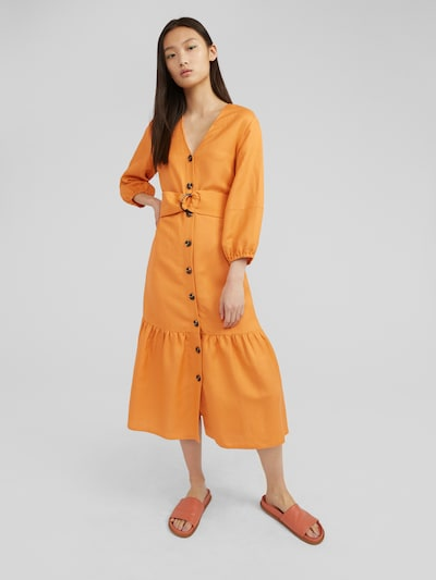 EDITED Kleid 'Kimia' in orange, Modelansicht