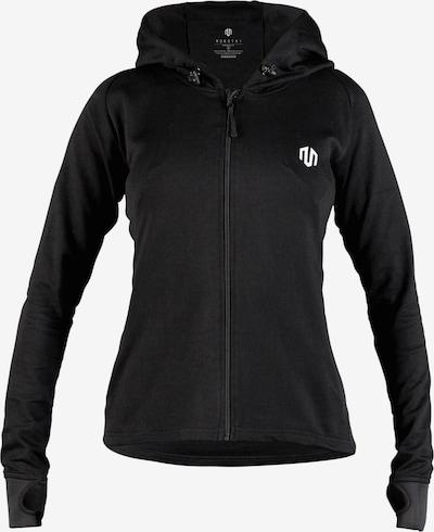 MOROTAI Sport-Sweatjacke 'Comfy Performance Full Zip' in schwarz, Produktansicht
