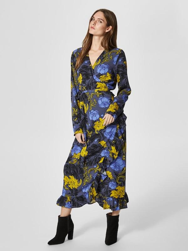 SELECTED FEMME Kleid mit langen Ärmeln Blumenprint