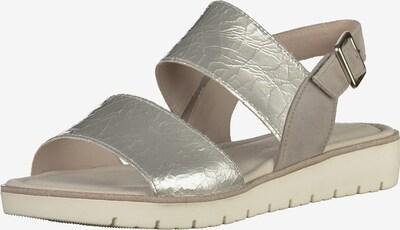 GABOR Sandalen in silber, Produktansicht