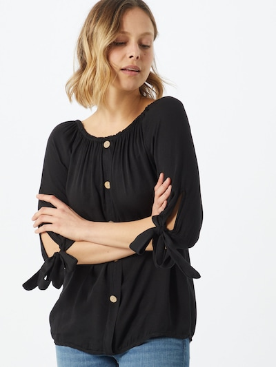 Hailys Bluza 'Eliana' | črna barva, Prikaz modela