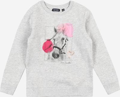 BLUE SEVEN Sweat-shirt en or rose / gris chiné / rose / rouge, Vue avec produit