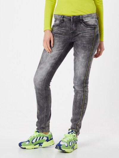STREET ONE Jeans 'York' in grey denim, Modelansicht