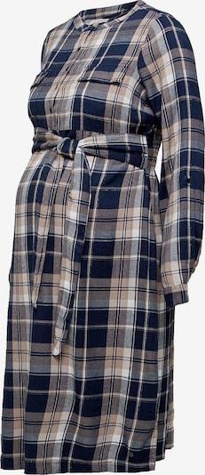Esprit Maternity Kleid in beige / hellbeige / kobaltblau, Produktansicht