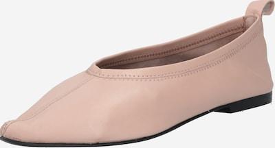 NA-KD Ballerines 'Pointy' en rose clair, Vue avec produit