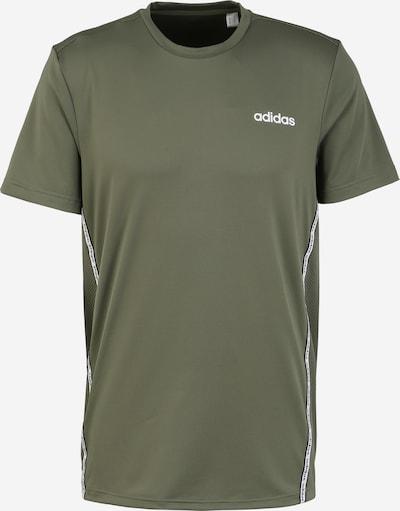ADIDAS PERFORMANCE Funkcionalna majica | oliva / bela barva, Prikaz izdelka