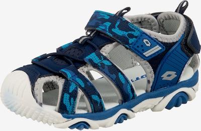 LOTTO Sandalen 'Sumatra' in hellblau / dunkelblau / hellgrau, Produktansicht