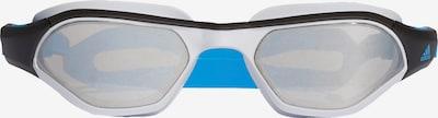 ADIDAS PERFORMANCE Schwimmbrille 'Persistar 180' in himmelblau / schwarz / transparent / weiß, Produktansicht