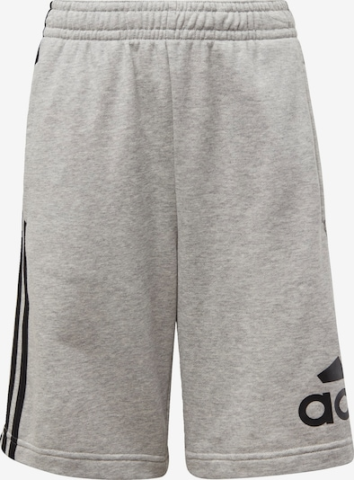 ADIDAS PERFORMANCE Pantalon de sport en gris chiné / noir, Vue avec produit