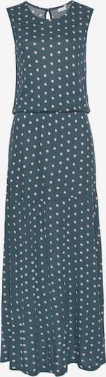 LASCANA Kleid in creme / blau, Produktansicht